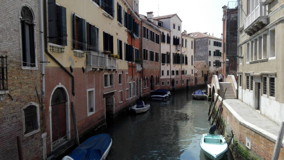 Charming Venice canal
