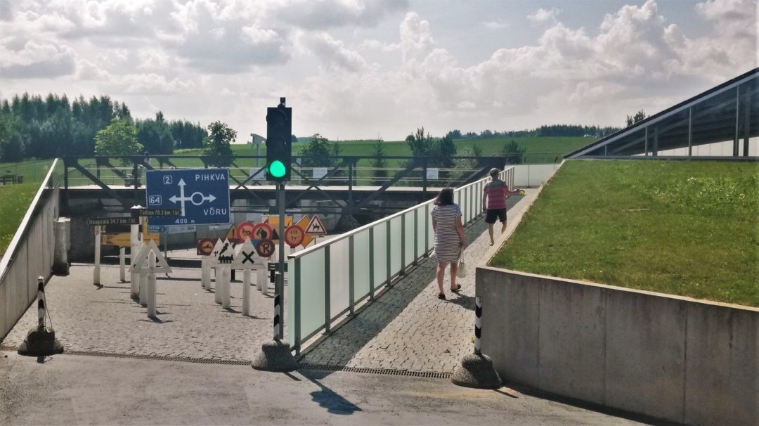 Estonian Road Museum - Main entrance