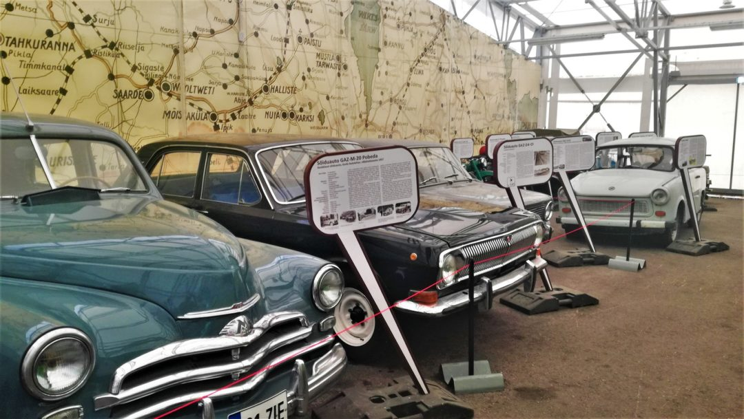 Estonian Road Museum - Exhibition of Old cars