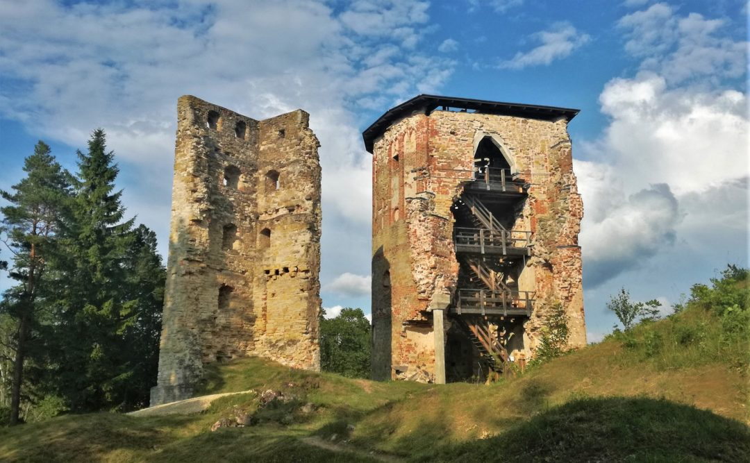 Ruins of the Vastseliina Episcopal Castle - Tower