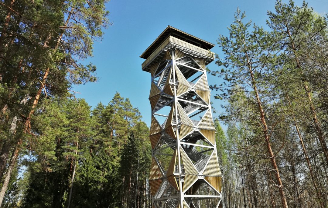 Valgesoo bog - a new watching tower with a height of 30 meters