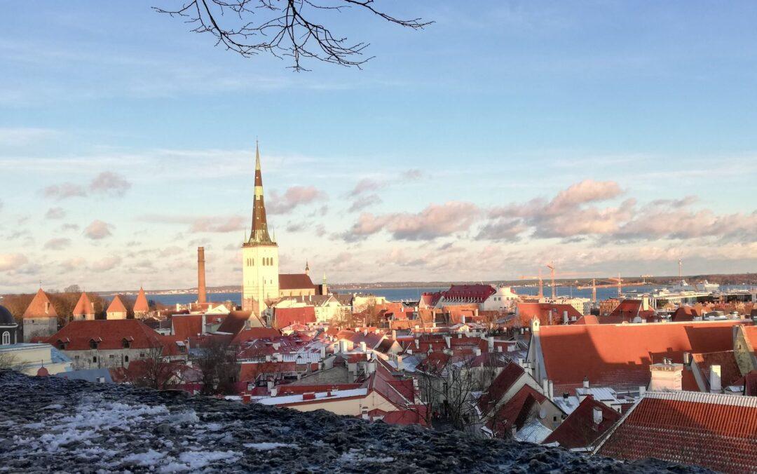 View from Tallinn Kohtuotsa viewing platform